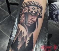 Native American Sleeve