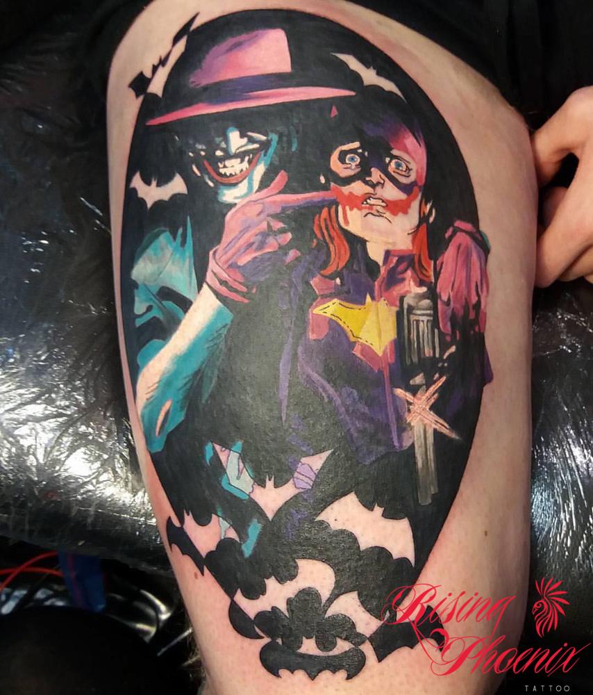 Joker & Batgirl