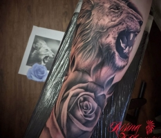 Realism Lion Sleeve