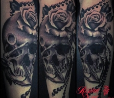 Calf Skull & Anchor