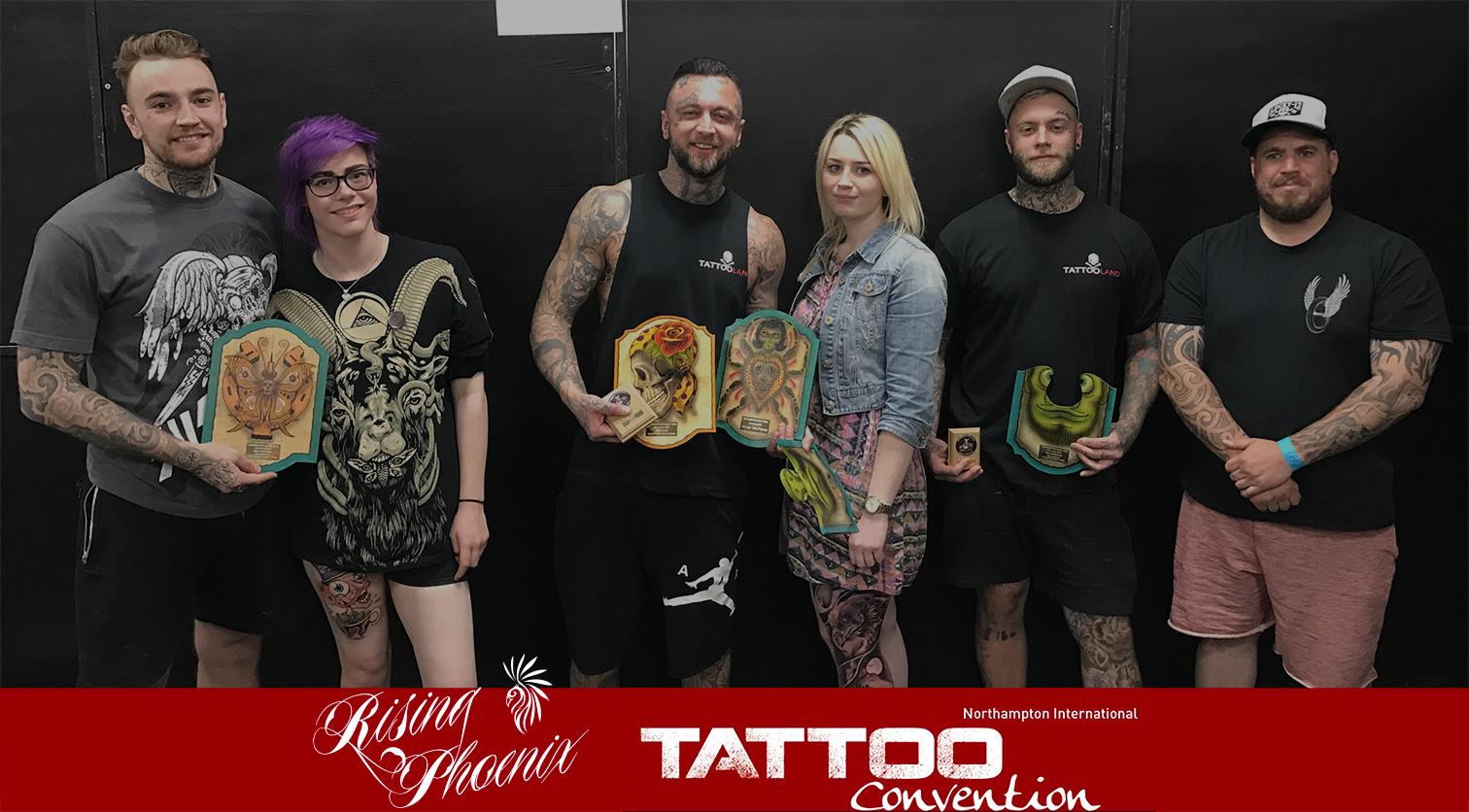 Northampton Tattoo Convention 2017 Header