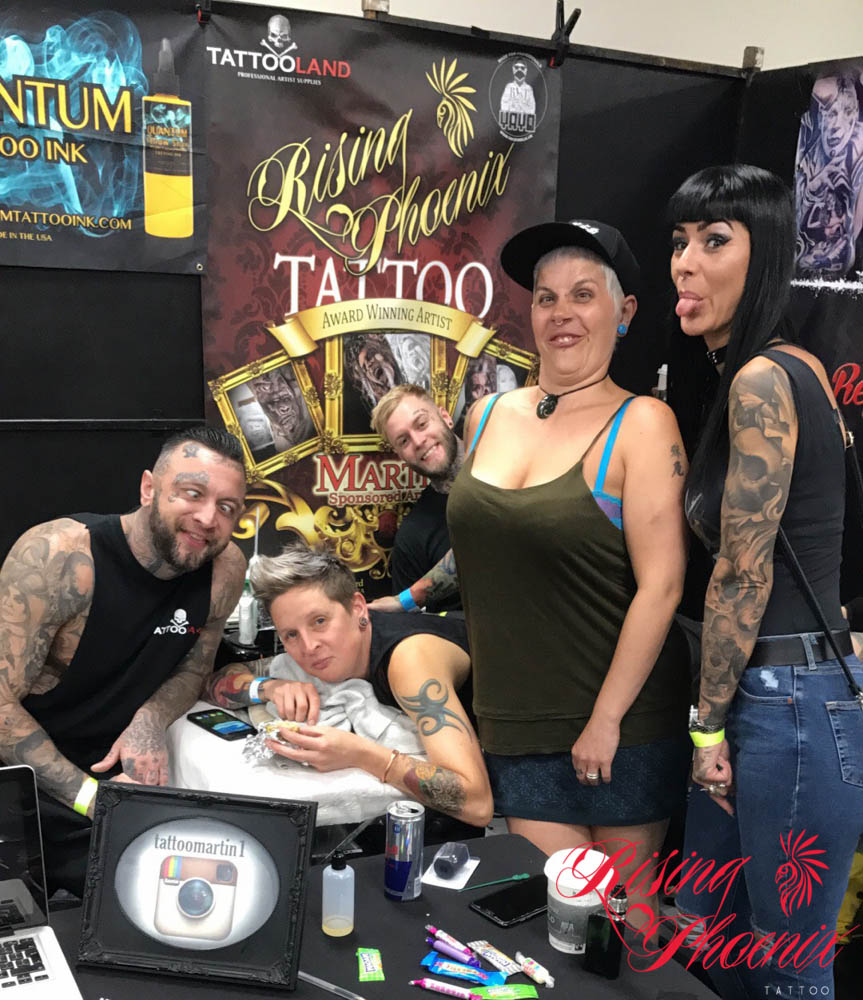 Faces of Northampton Tattoo Convention