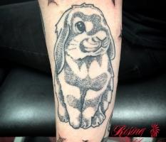 Dotwork Bunny Rabbit