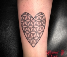 Simple Dotwork Heart ♥︎