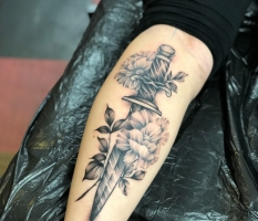 Flowery Dagger
