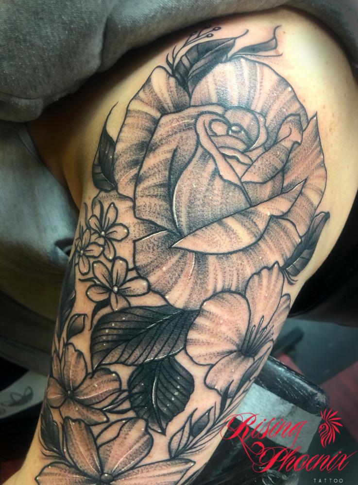 Whippy Grey Rose
