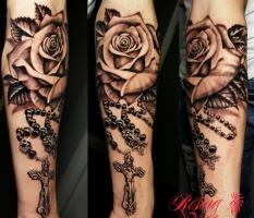 Rose & Chain