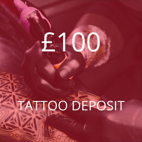 £100 Tattoo Deposit – Mikey Black