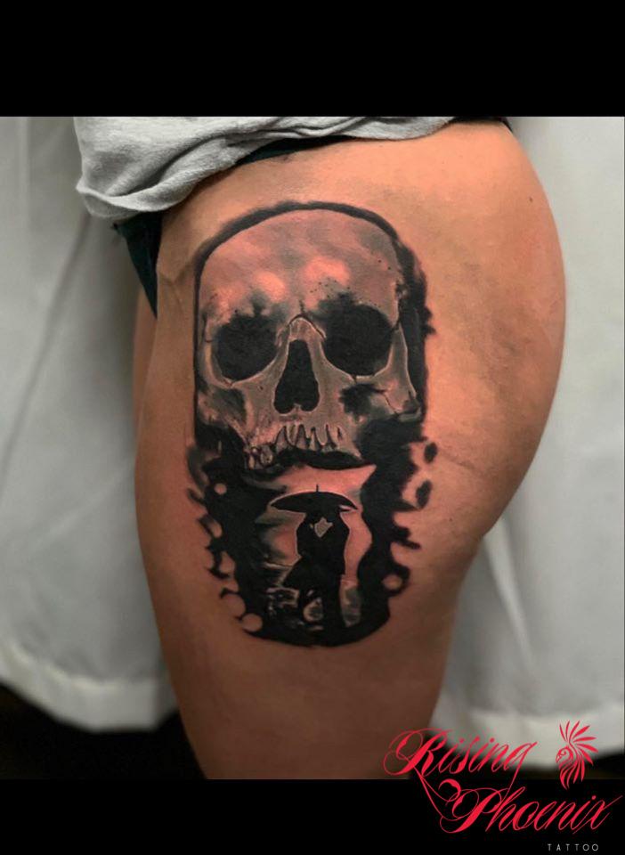 Skull Silhouette